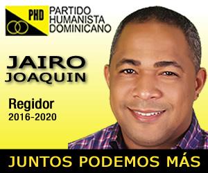 Jairo Joaquin - Regidor PHD 2016-2020