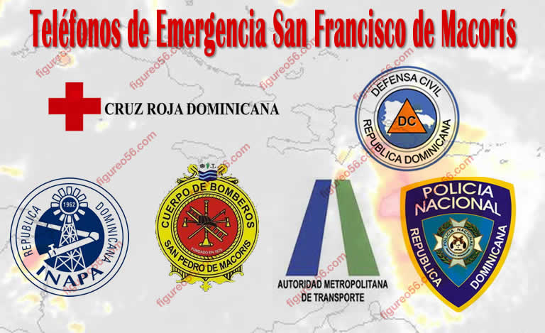 Telefonos de Emergencia San Francisco de Macoris